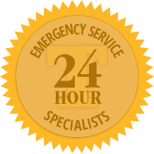 24 Hour Emergency Service Specialists